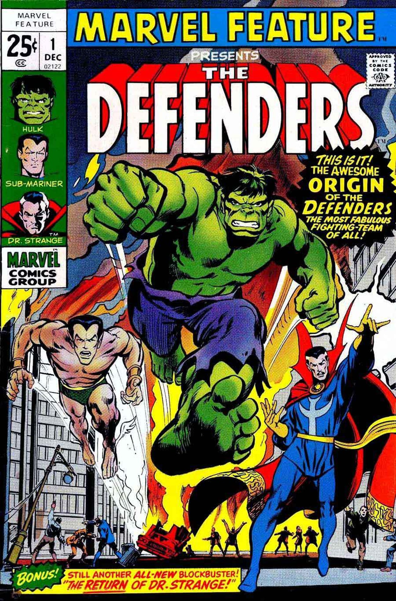 The Defenders Comic