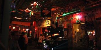 Szimpla Kert (a romkocsma or ruin pub)