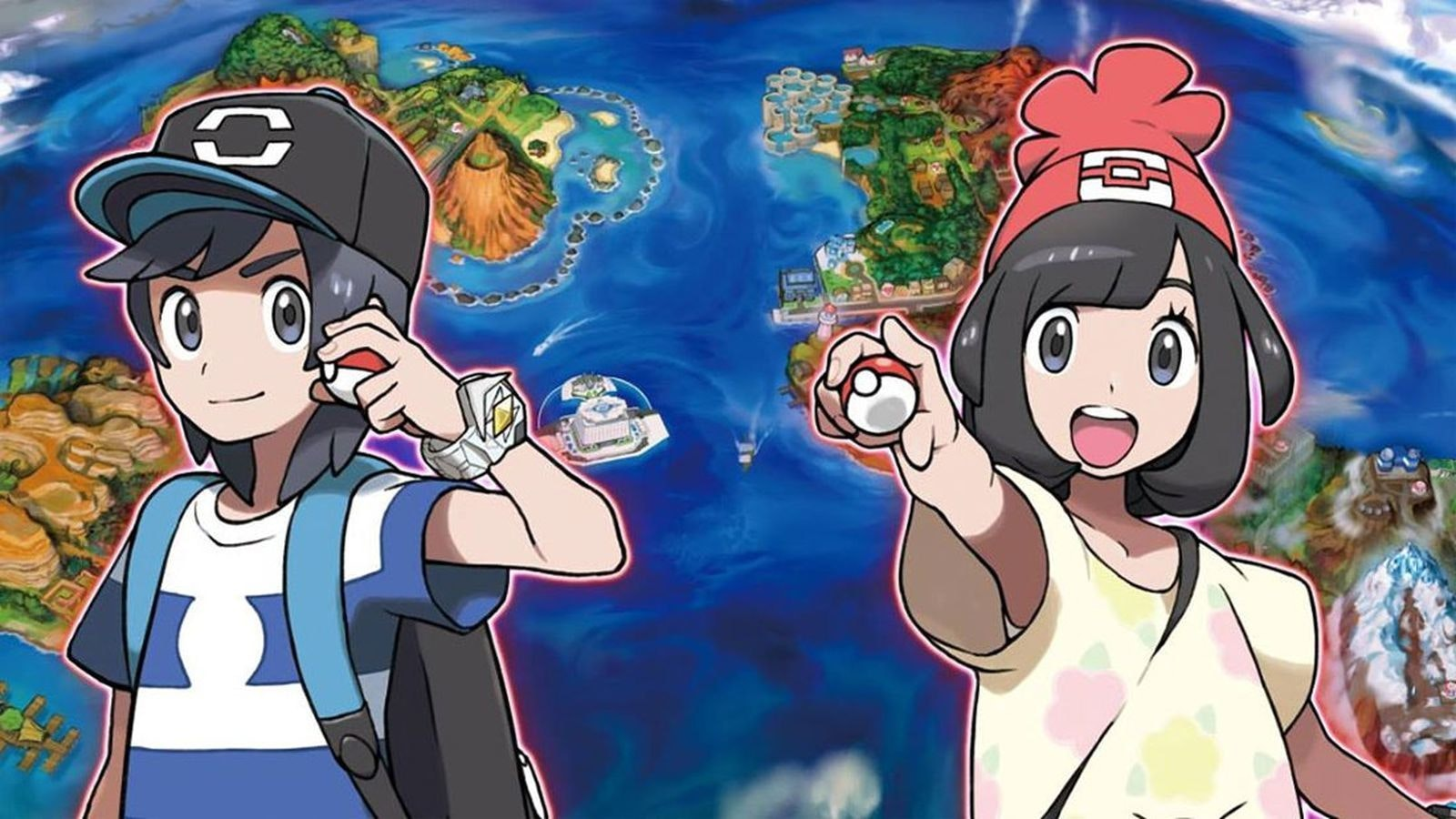 Images of sun and moon pokemon league battles