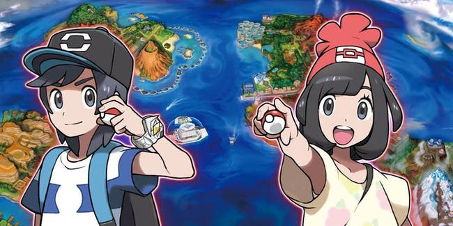 'Pokemon Sun' and 'Moon'