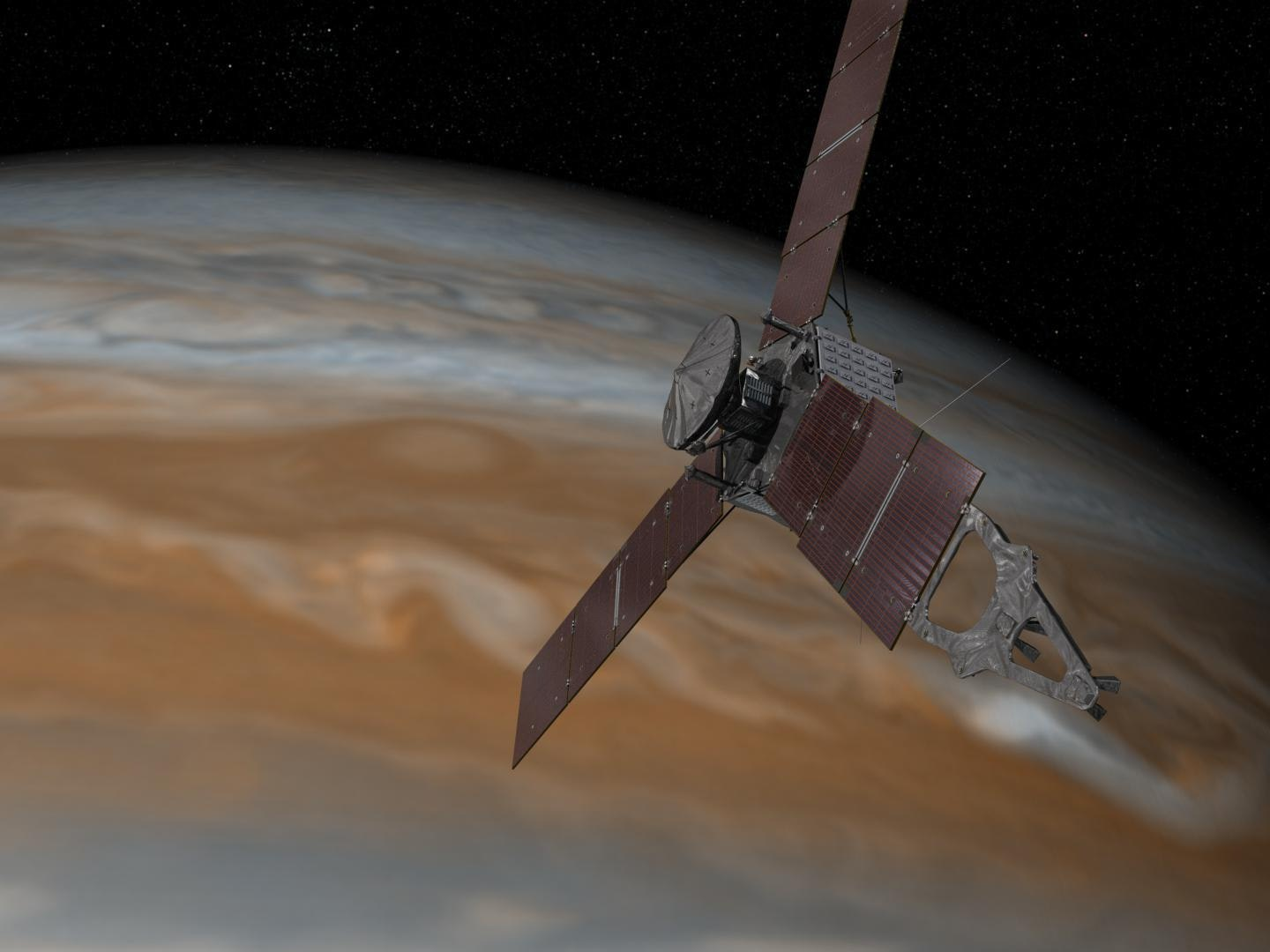 """NASA's 'Juno' Spacecraft, """"an Armored Tank Going Into Jupiter,"""" Arrives There July 4"""