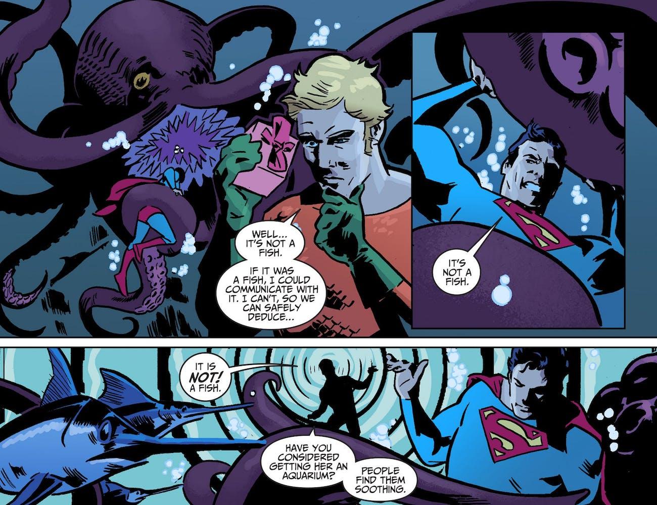 Aquaman Superman KElly Sue DeConnick