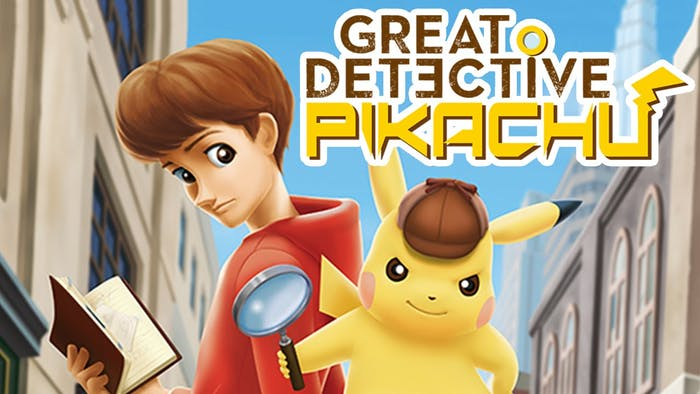 In 'Great Detective Pikachu', the yellow monster teams up with youngster Tim Goodman, who's the only one who can understand him.