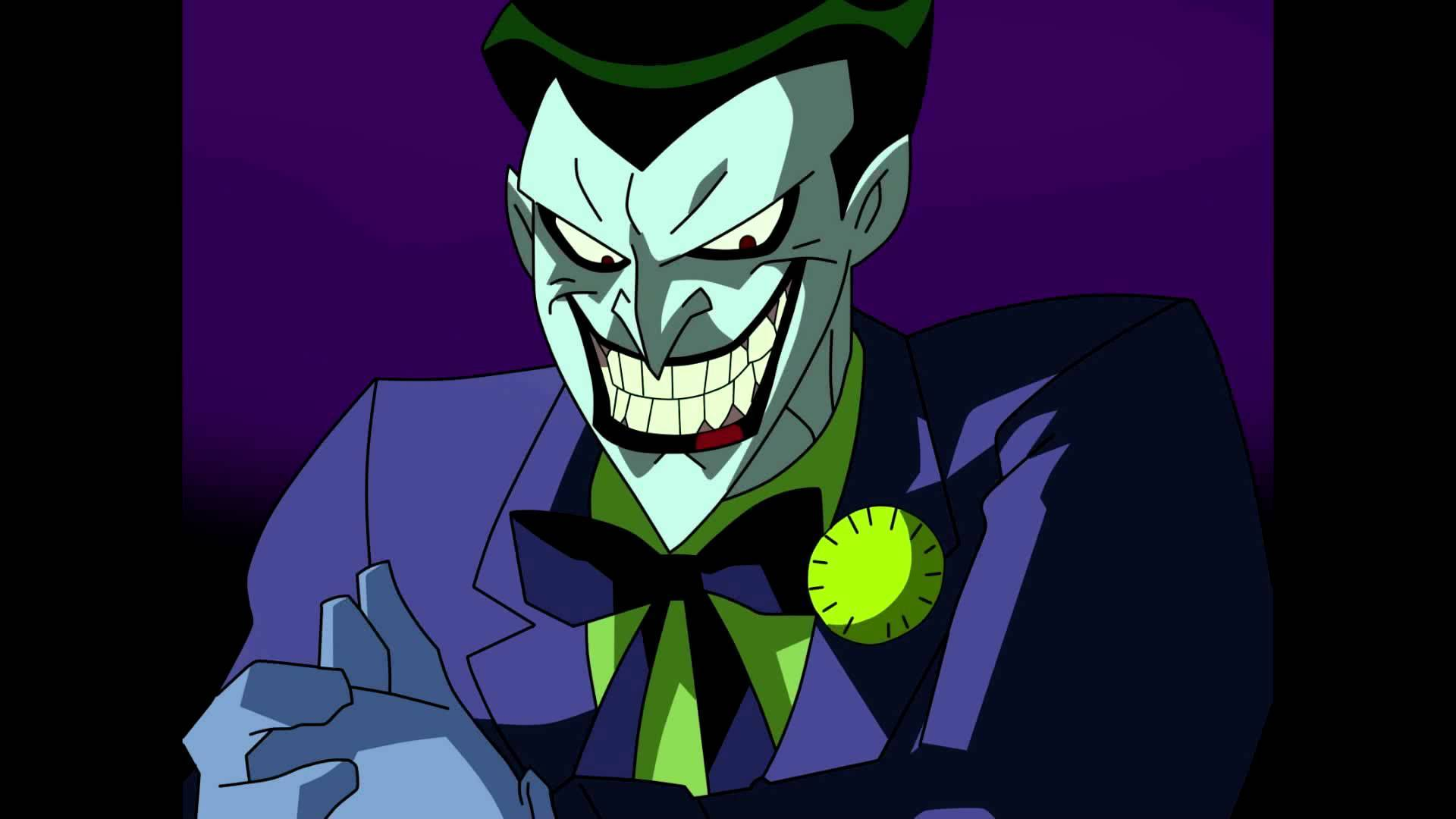 Batman and joker from the animated series are back inverse voltagebd Choice Image