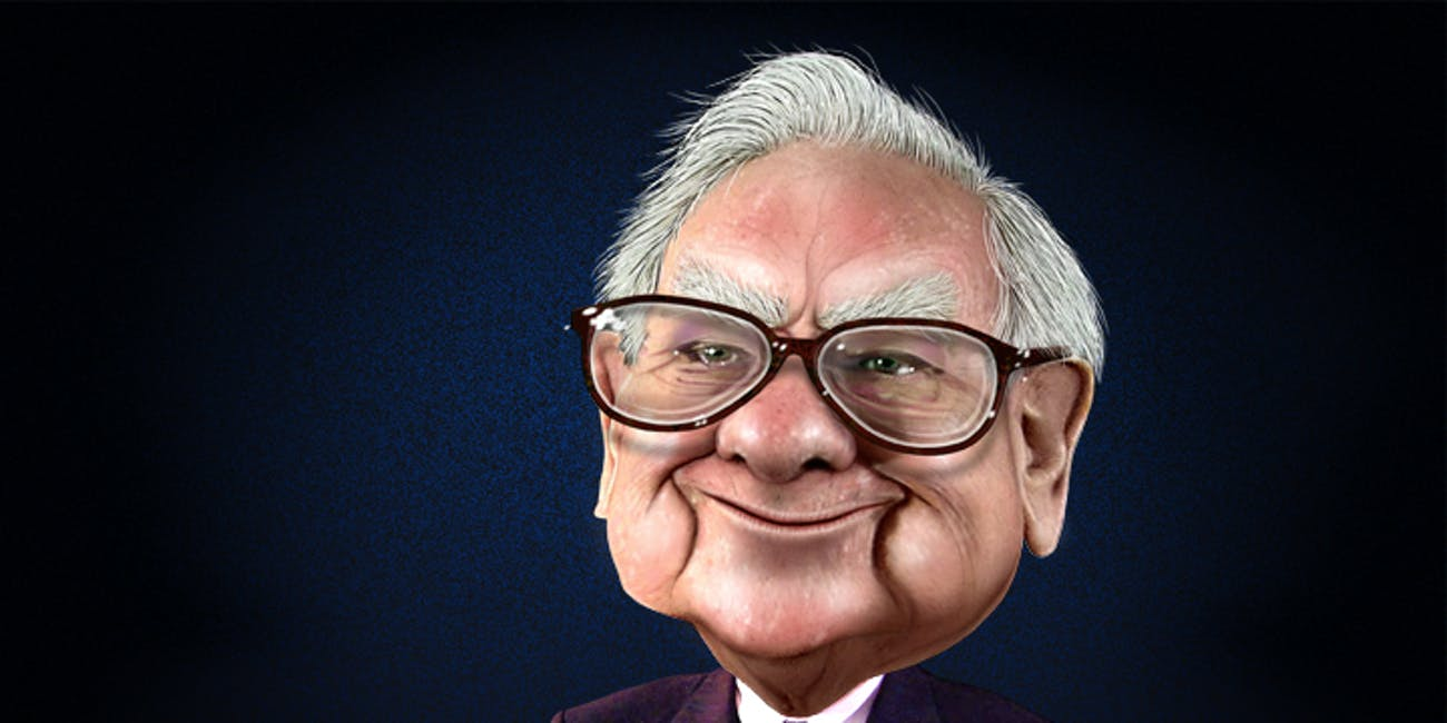 Warren Buffett - Caricature