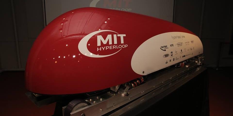 MIT unveiled their hyperloop prototype today.