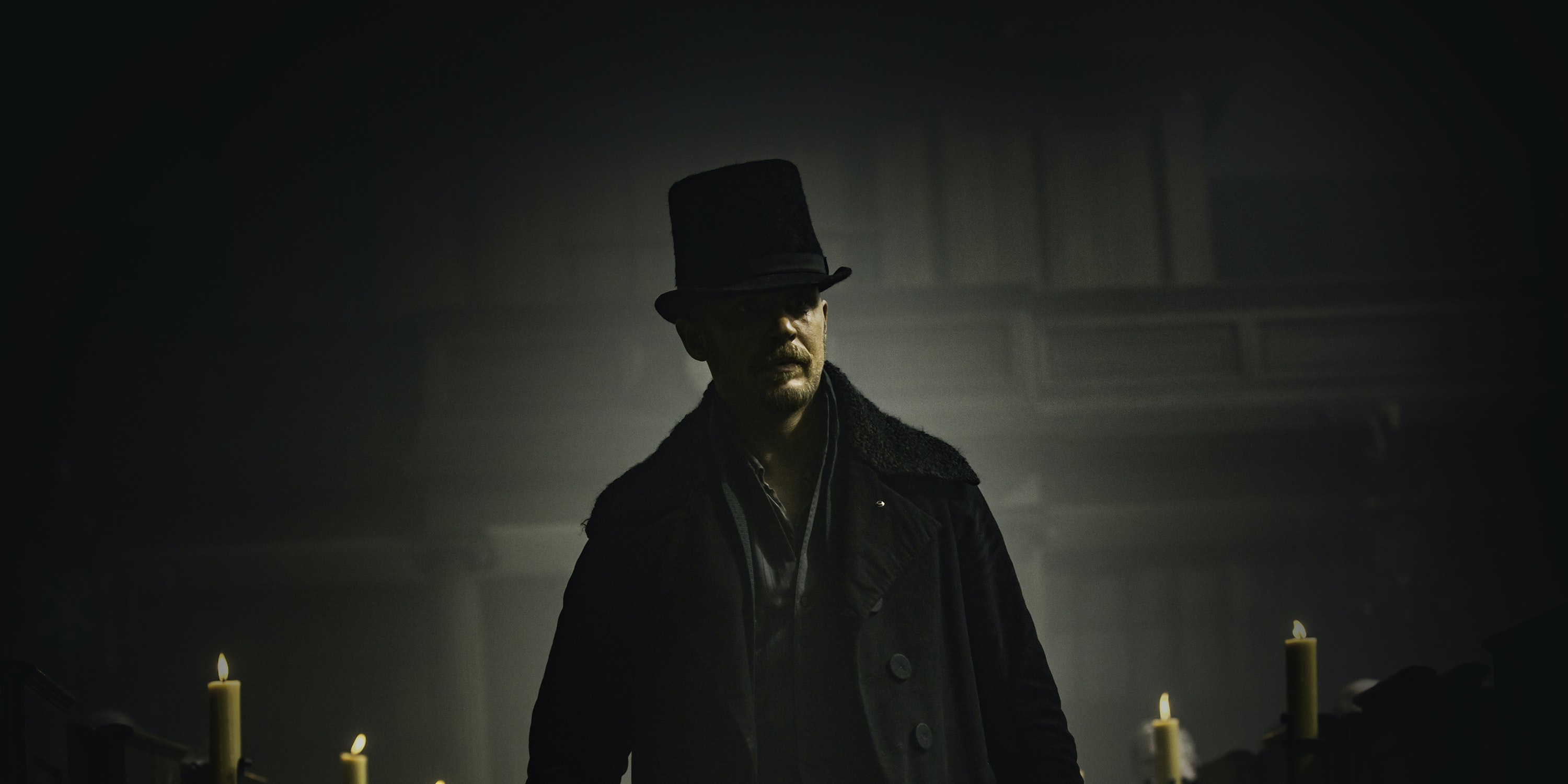 "Tom Hardy as James Delaney in FX's ""Taboo"""