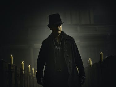 """Tom Hardy as James Delaney in FX's """"Taboo"""""""