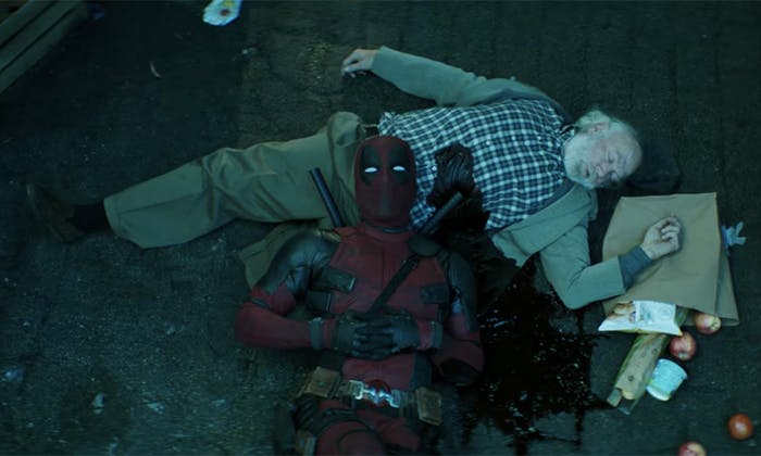 Remember when Deadpool wasn't fast enough to save that poor guy?