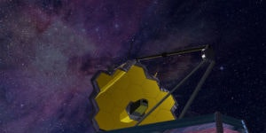 Artist's impression of the James Webb Space Telescope, which could tell us if Proxima b has the kind of atmosphere we hope it does.