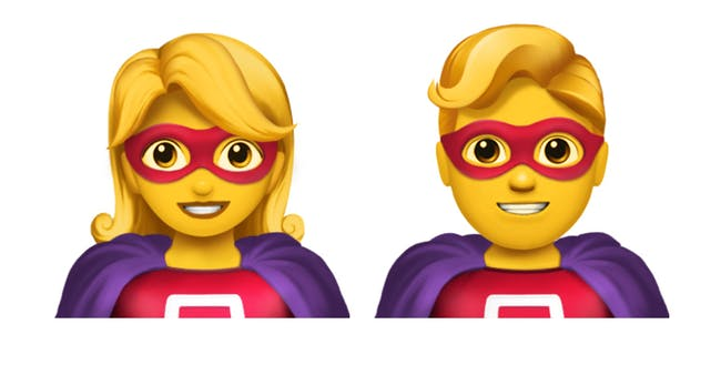 The superhero emoji smile wanly. What do they know? What do they know they know? Do we know they know it?