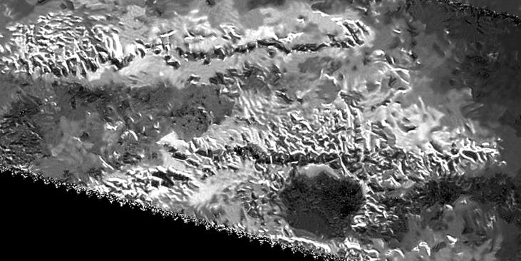 We've Spotted the Tallest Mountain on Saturn's Moon