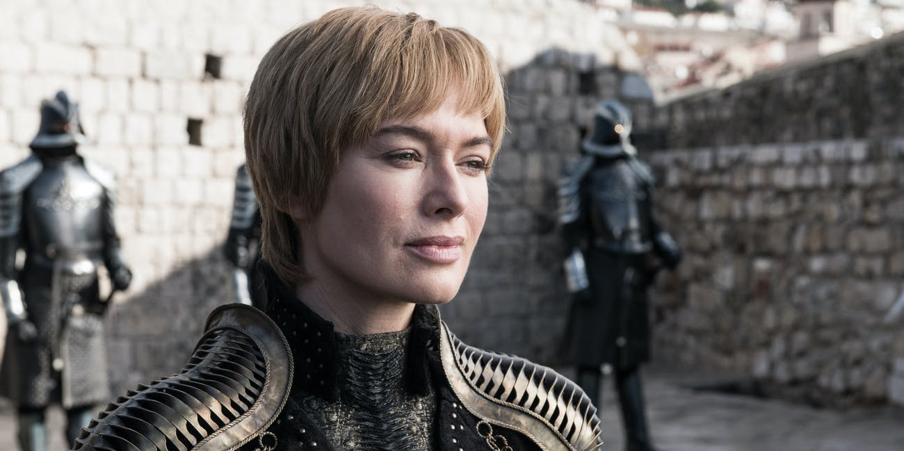 Lena Headey in 'Game of Thrones' Season 8 premiere episode