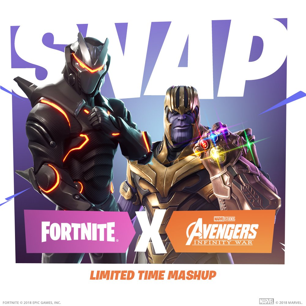 Fortnite Update V4 1 Patch Just Went Live With Infinity War
