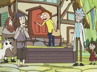 'Rick and Morty vs. Dungeons & Dragons' takes place in the past of the show.