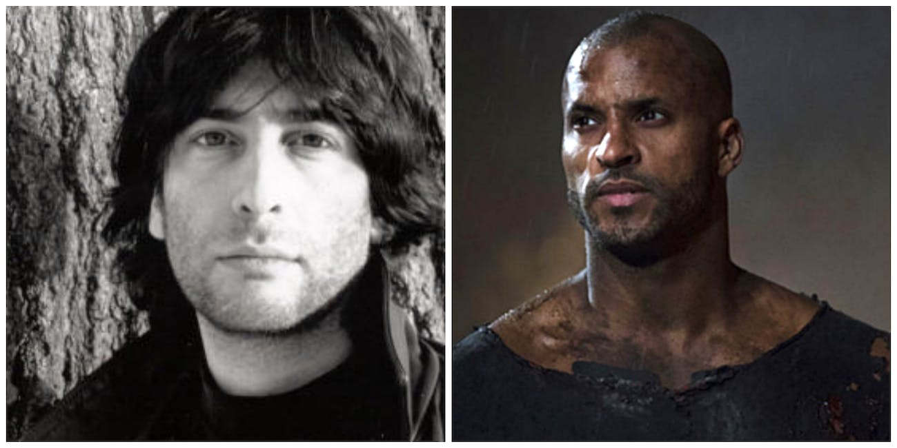 Neil Gaiman and Orlando Jones for 'American Gods' and 'Anansi Boys'