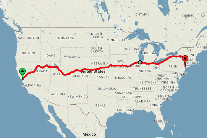 This Map Reveals the Ultimate CrossUS Train Trip for Under 250