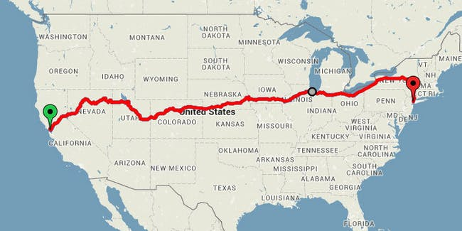 this map reveals the ultimate cross us train trip for under 250