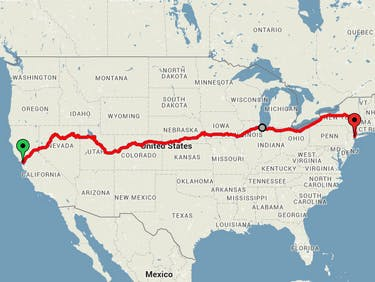 This Map Reveals the Ultimate Cross-U.S. Train Trip for Under $250