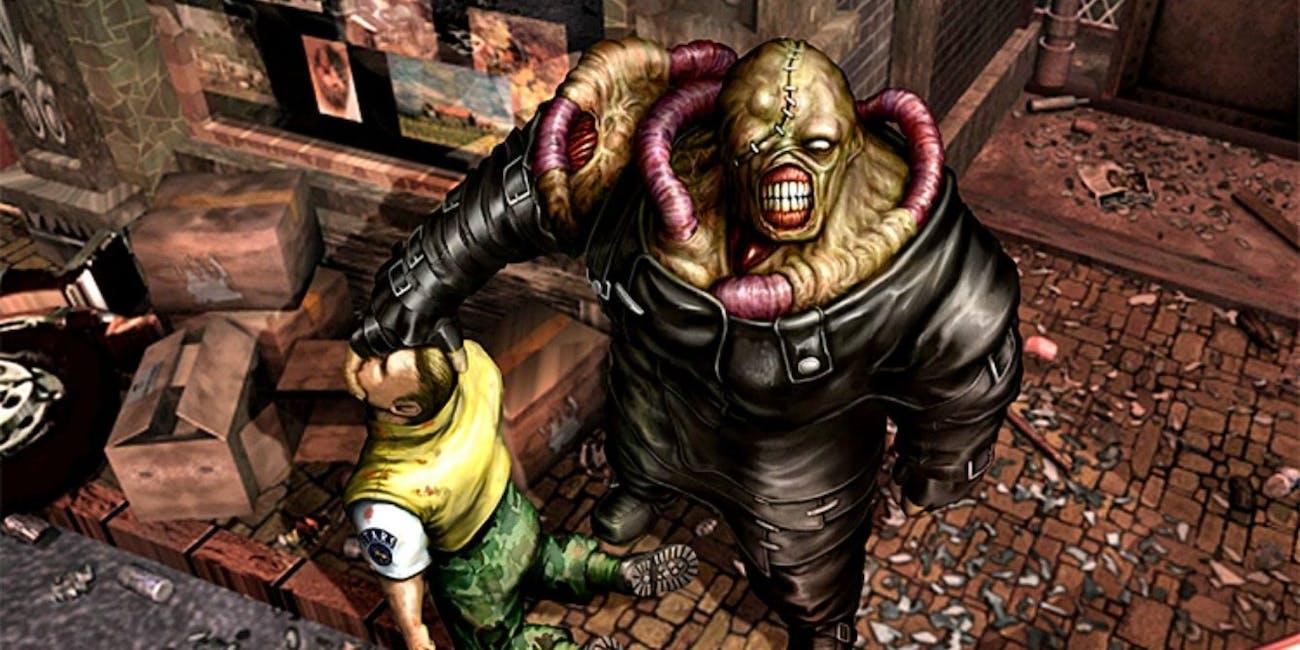 resident evil nemesis capcom