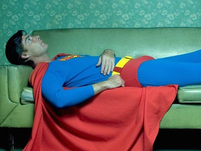Superman Can't Go Without Sleep Because He's Essentially a Plant