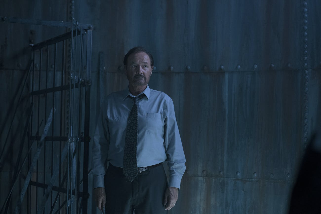 Terry O'Quinn as Warden Lacy in 'Castle Rock'.