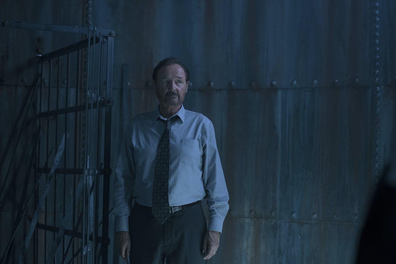 Terry O'Quinn as Warden Lacy in 'Castle Rock'.