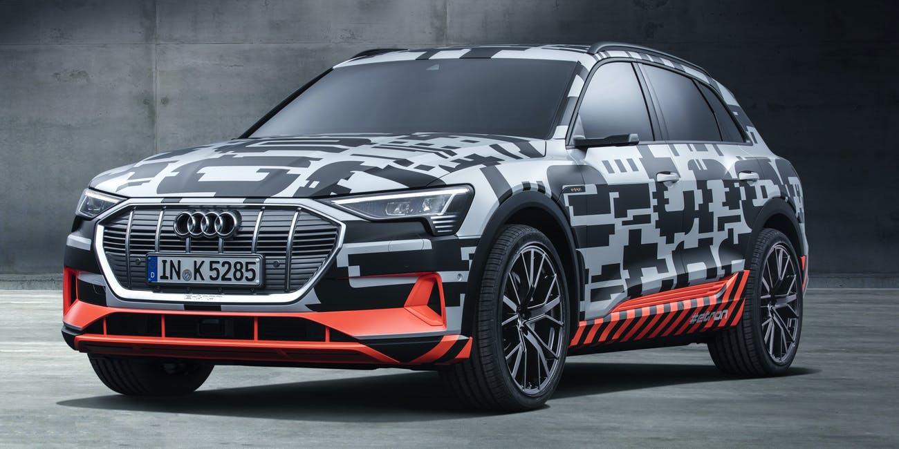 Audi Just Revealed Incredible Images Of ETron Its First EV Inverse - Audi ev
