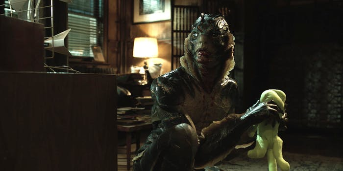 The fish man in 'The Shape of Water' is not a nice creature.