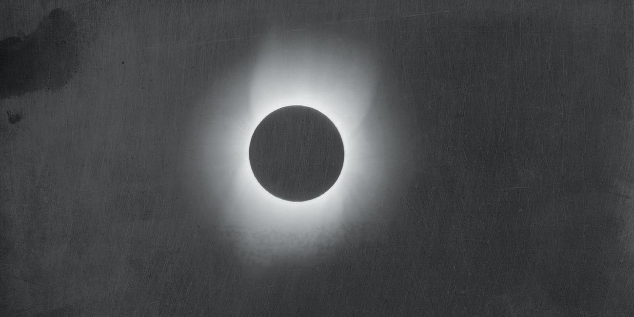 Corona of the Sun during a Solar Eclipse