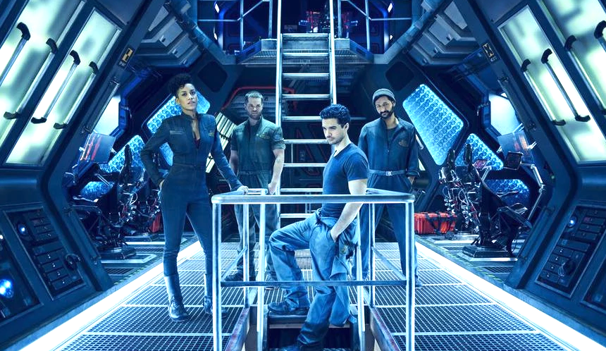 The crew of the Rocinante on 'The Expanse.'