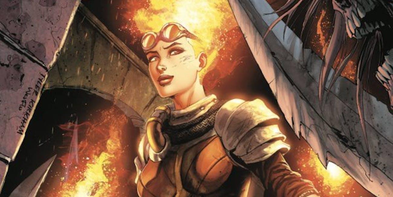 Magic the Gathering Chandra IDW comics