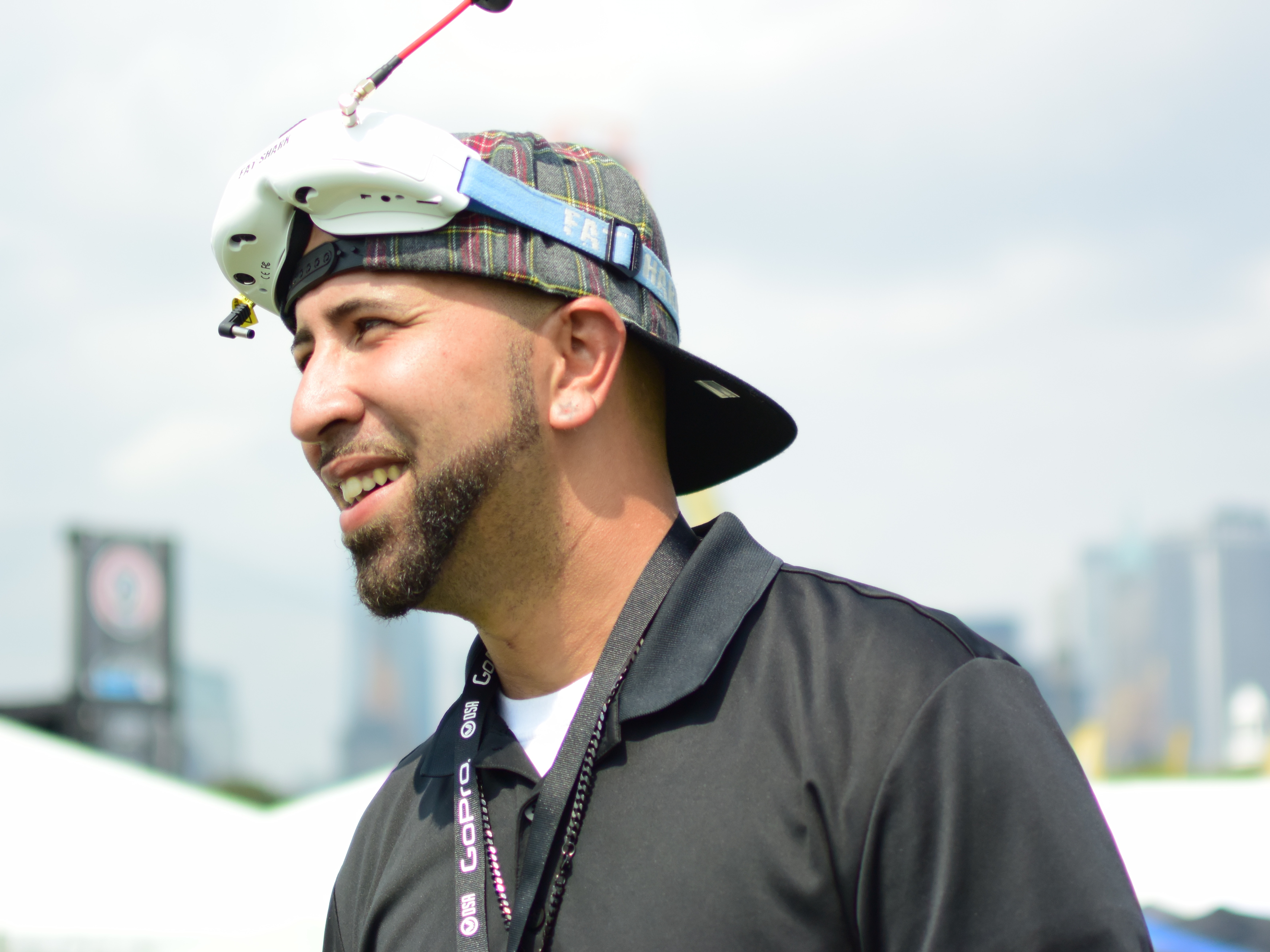 Alex Vargas believes drone racing can help gang affiliated youth.