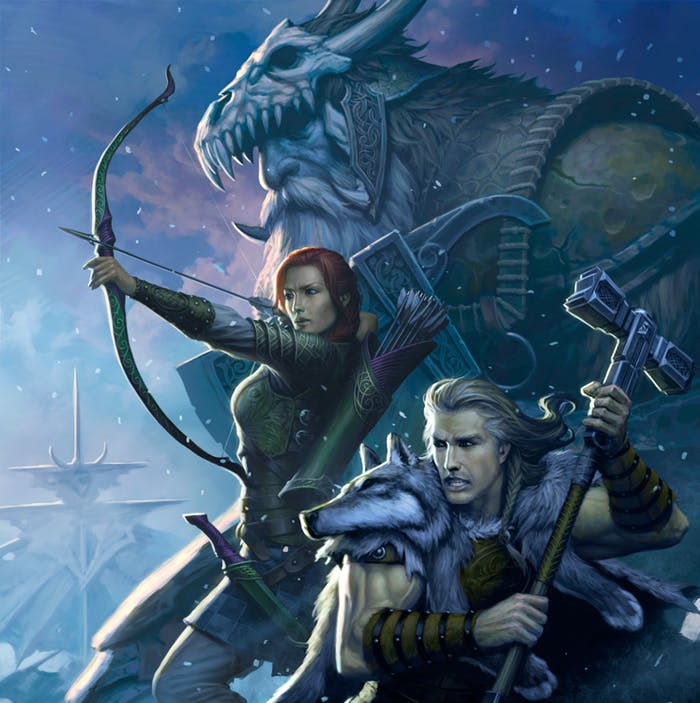 Artwork from the new 'D&D: Storm King's Thunder' storyline, hitting stores in Fall 2016.