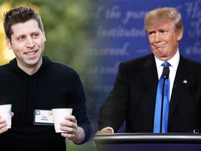 "Sam Altman's Got a ""New Project to Stop Trump"""