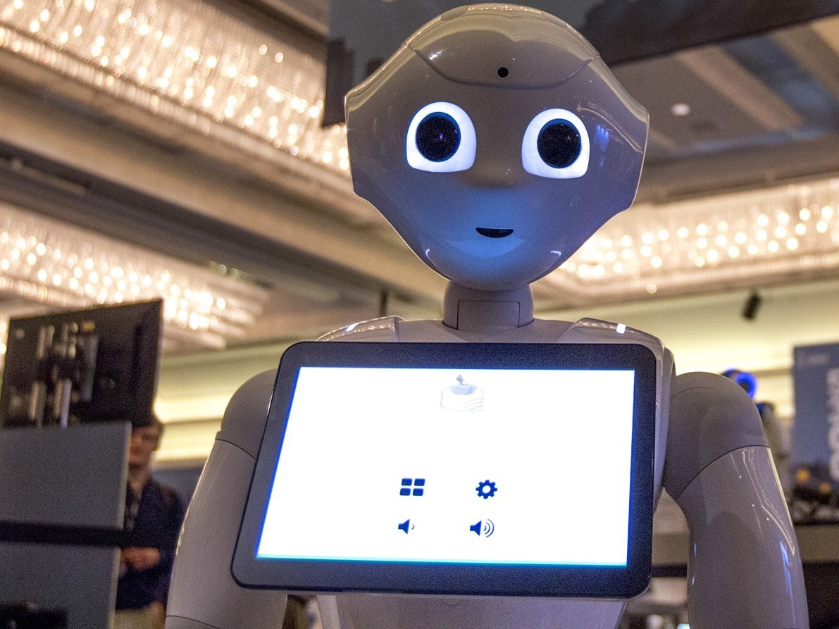 Pepper the Robot's Primary Objective: Get the Humans in the Stores