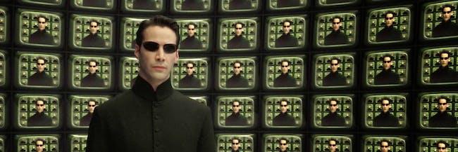 The Matrix Reloaded scene