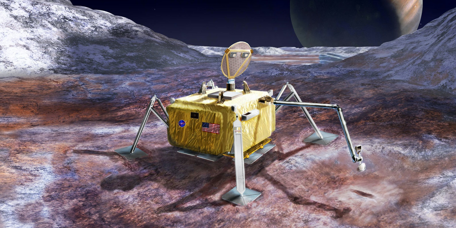 Here's What a Mission to Europa to Find Aliens Might Look Like