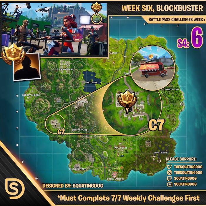 Week 6 blockbuster guide