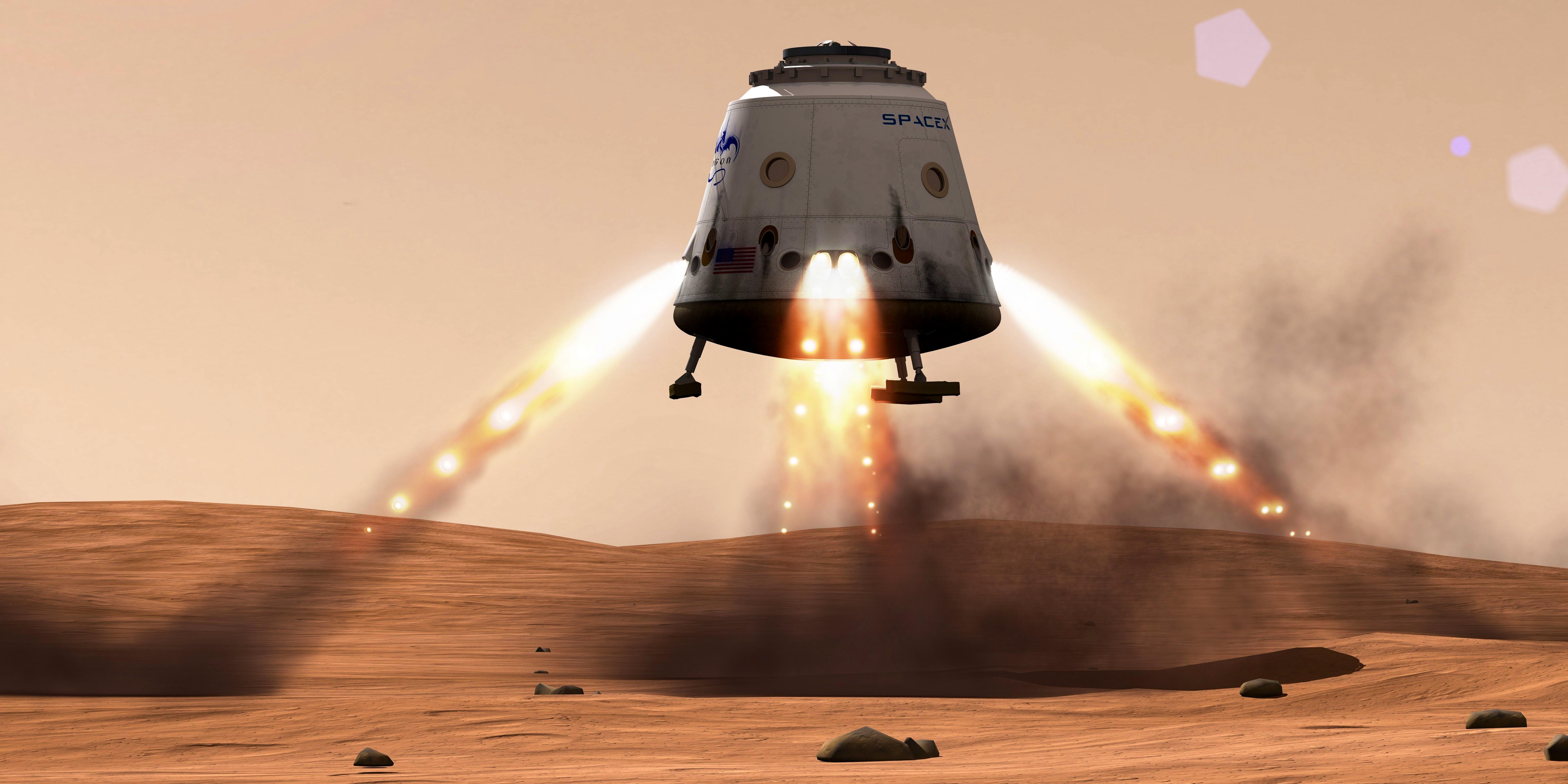 mars landing plan - photo #17