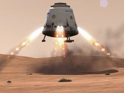 What's Up With SpaceX's Mars-Bound Red Dragon?