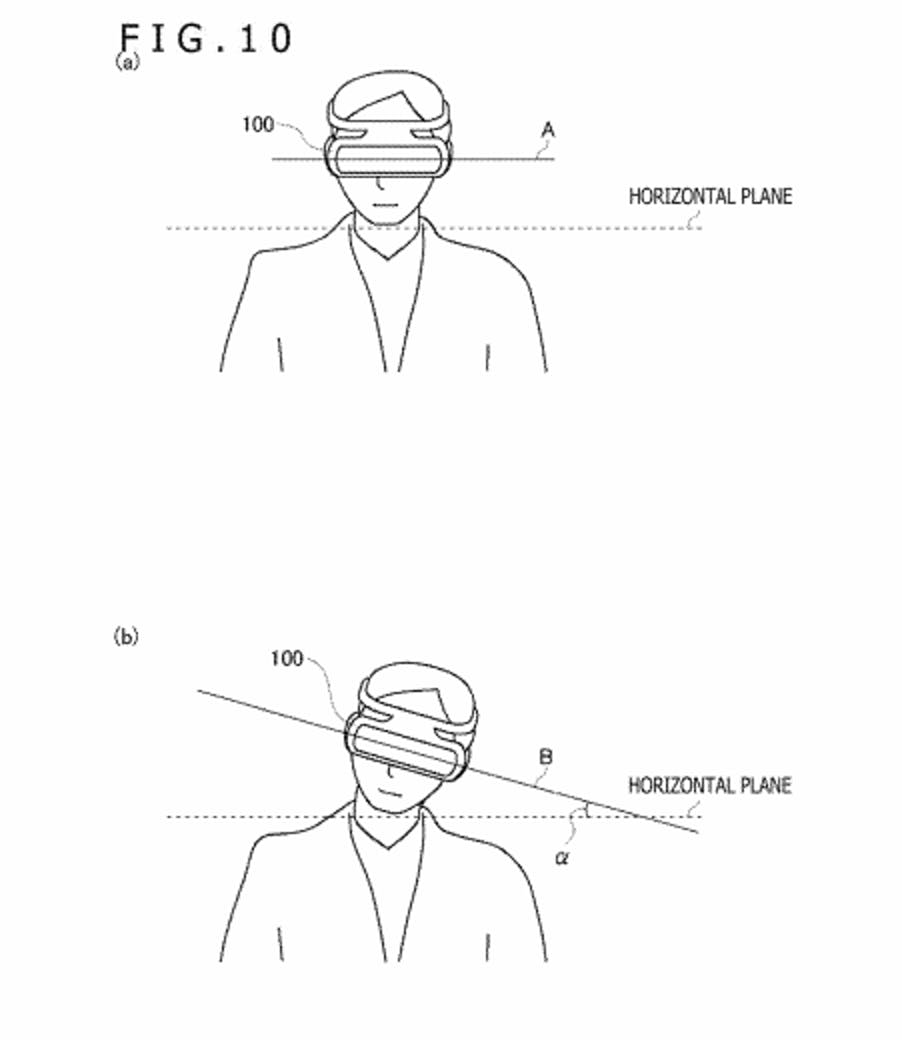 ps5 virtual reality headset patent
