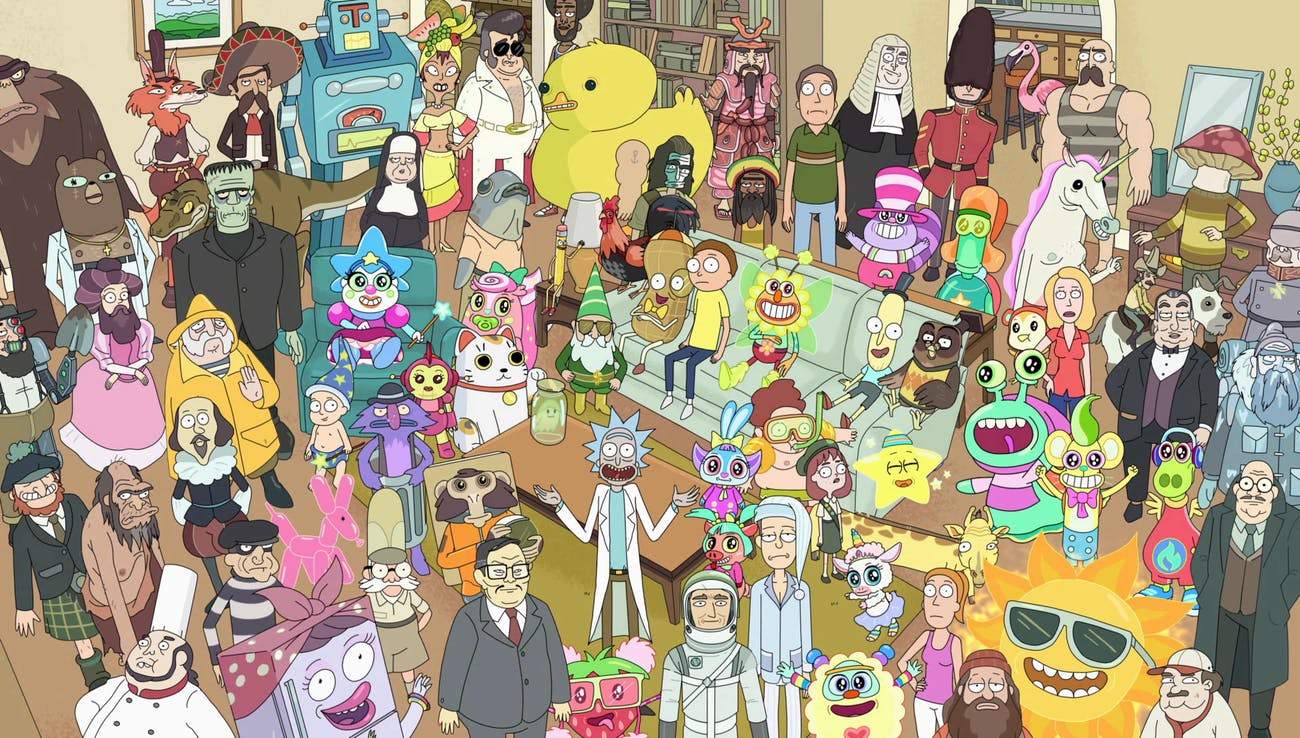 "The detail in ""Total Rickall"" is insane."