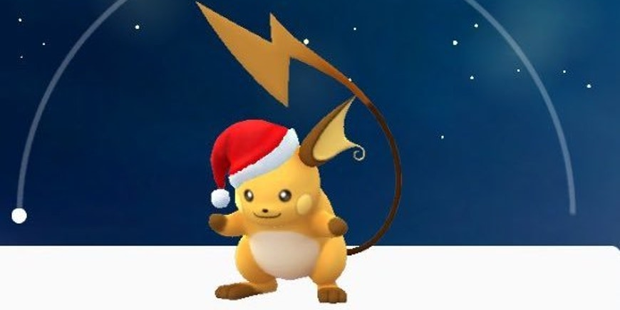 Holiday Pikachu Totally Evolves Into a Secret Holiday Raichu
