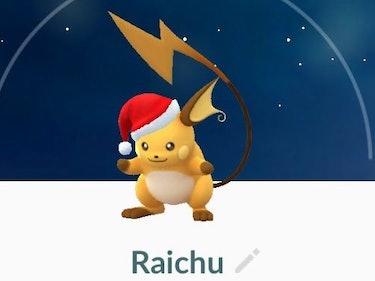 Holiday Pikachu Totally Evolves Into a Secret Holiday Raichu