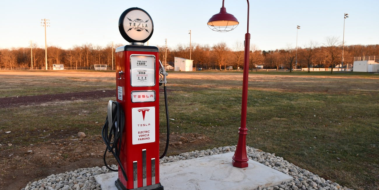 The Inside Scoop's electric charger.