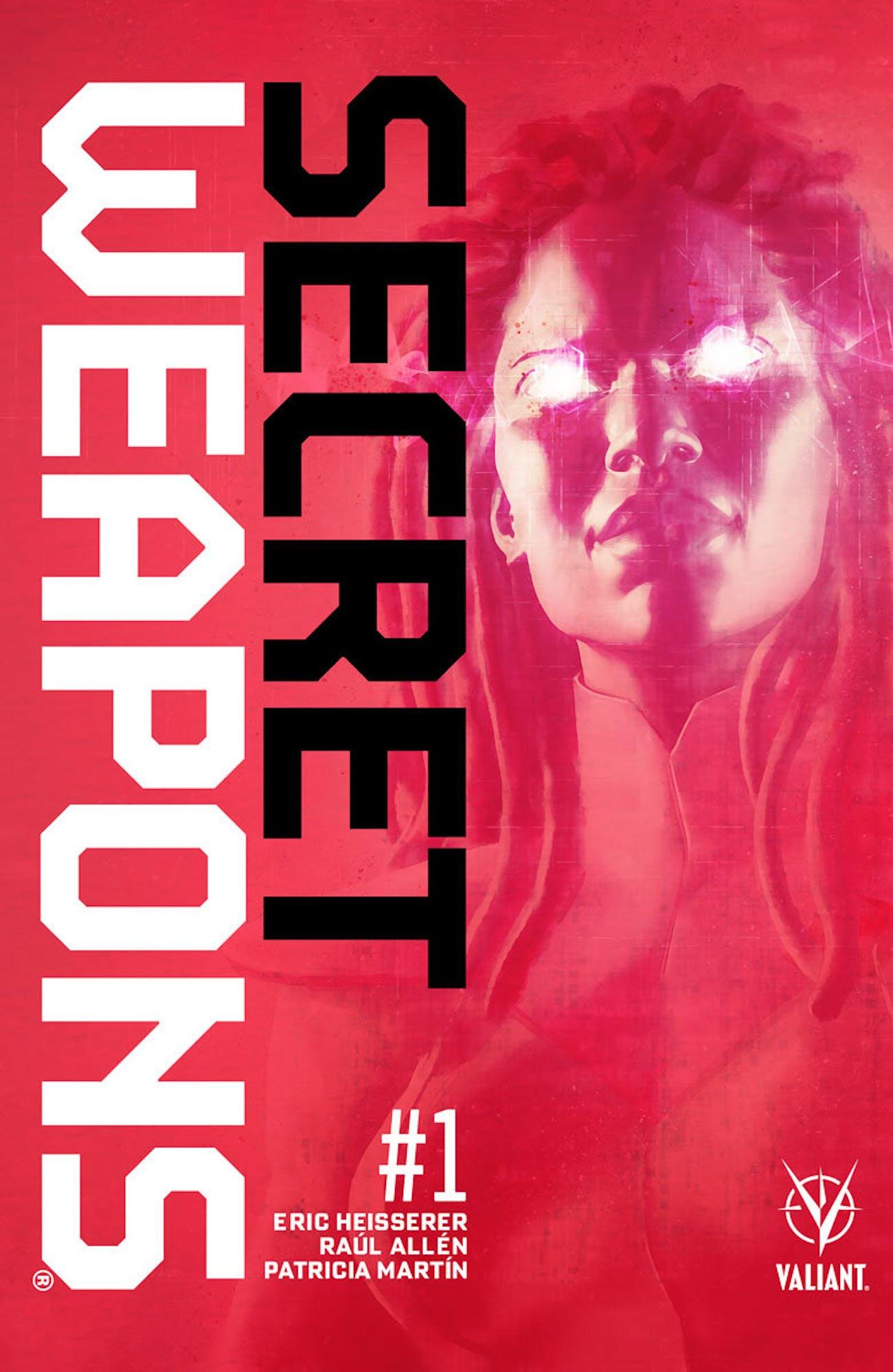 Valiant Secret Weapons Eric Heisserer