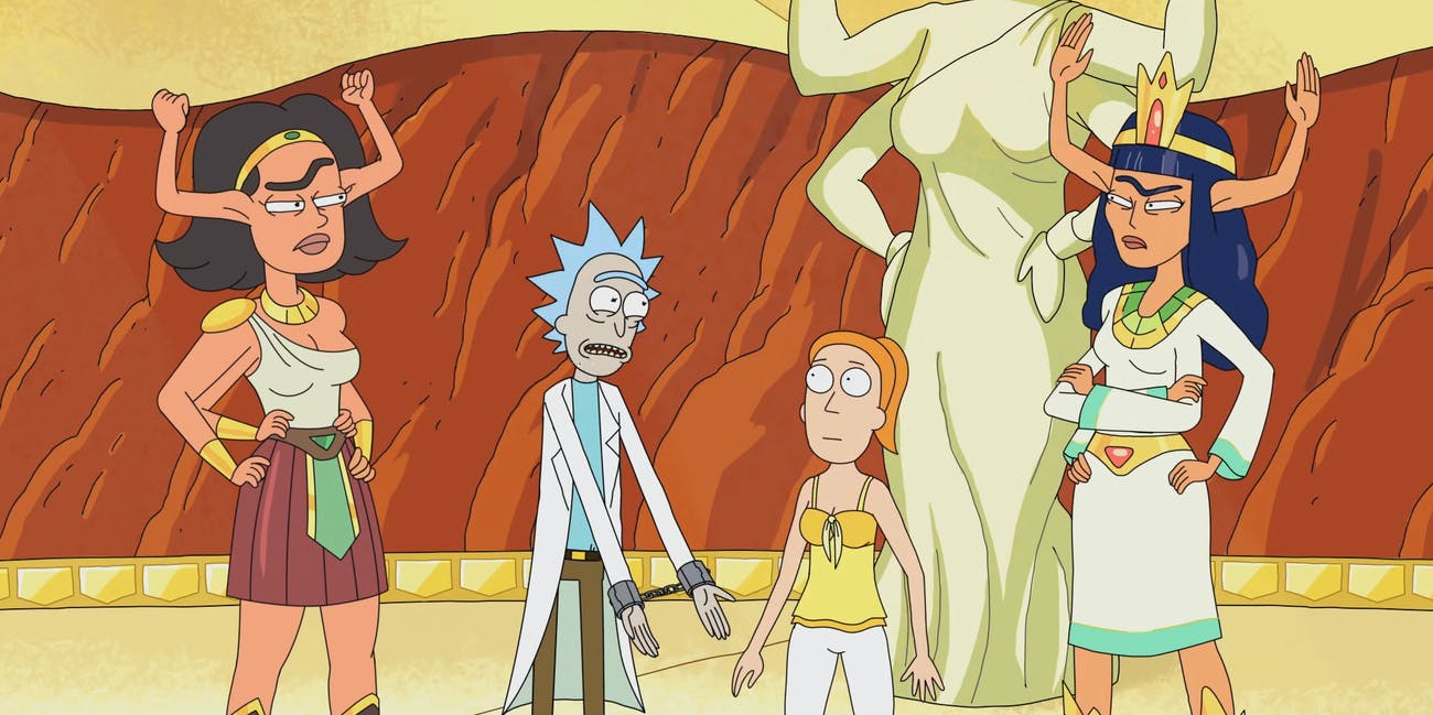 Rick Morty Summer Gazorpazorp Women Issues Roles Matriarchy