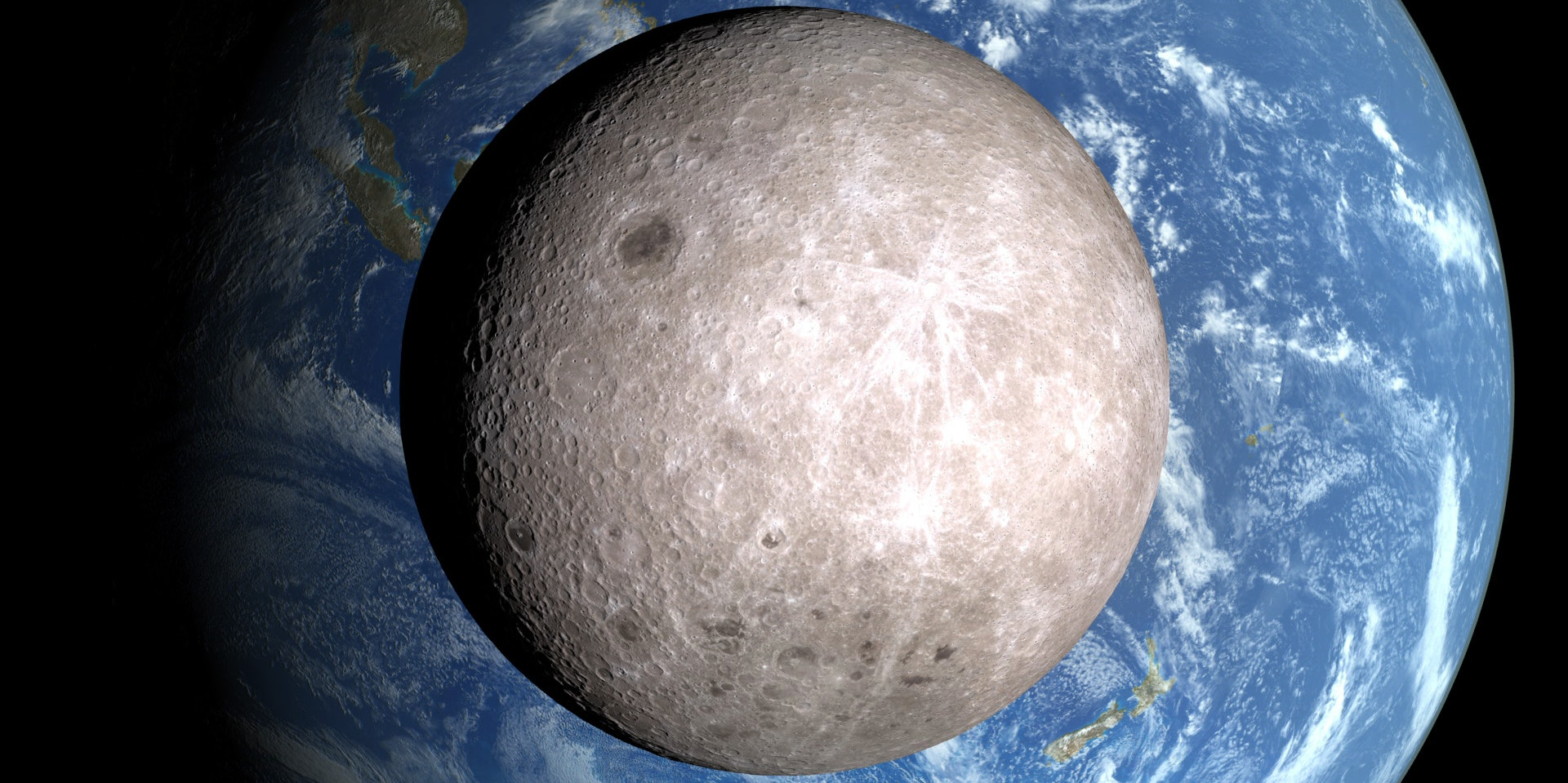 Why the Far Side of the Moon Isn't as Dark as You Think