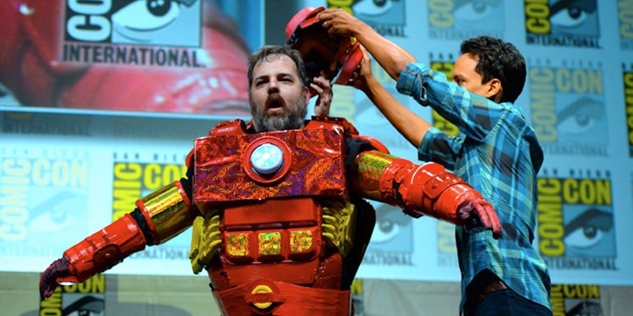 Dan Harmon, Danny Pudi at Comic-Con